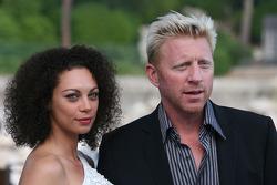 Boris Bekker and his girlfriend
