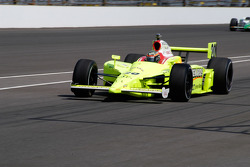 Ed Carpenter enters the pits