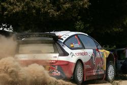 Daniel Sordo and Marc Marti, Citroen Total WRT, Citroen C4