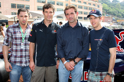 Felix Sturm Boxer, Mark Webber, Red Bull Racing, Sebastian Vettel, Red Bull Racing