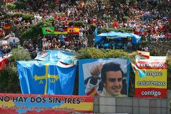 Cartel de fan de Fernando Alonso, Renault F1 Team