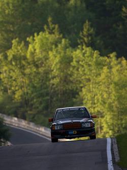 #160 Mercedes-Benz 190E 2.5 16V: Frank Hempel, Hannes Pfledderer, Gunther Stecher