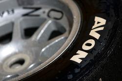 Avon tyre detail
