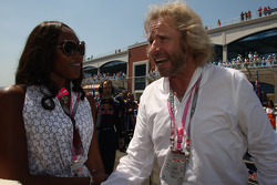 Naomi Campbell, Supermodel and Thomas Gottschalk