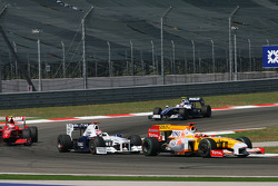 Fernando Alonso, Renault F1 Team and Robert Kubica, BMW Sauber F1 Team