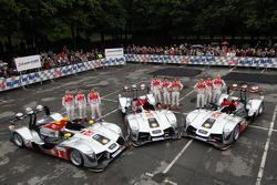 Audi team photoshoot