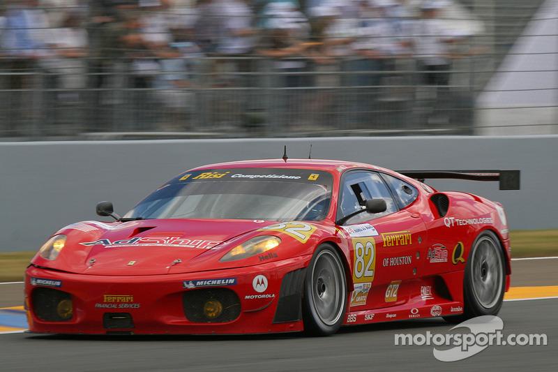 82 Risi Competizione Ferrari F430 GT: Jaime Melo, Pierre Kaffer ...