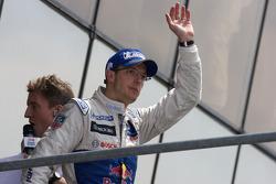 LMP1 podium: Sébastien Bourdais