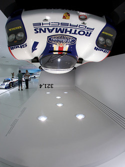 A 1982 Porsche 956 could theoretically drive on ceilings at 321.4 km/h