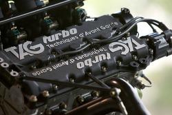 1986 McLaren TAG MP 4/2 C Formula 1 V6 Turbo engine