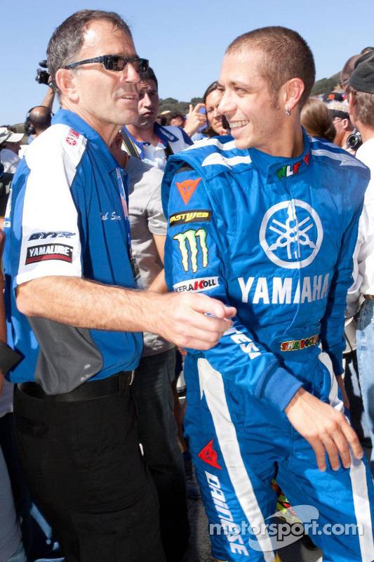 Evento promocional de Go-kart: Valentino Rossi, Fiat Yamaha Team