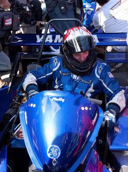 Go-kart promotional event: Wayne Rainey