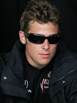 Autograph session: Marco Andretti, Andretti Green Racing
