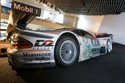 Silver arrows: 1997 Mercedes-Benz CLK-GTR GT-racing sports car