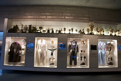 Silver arrows: gallery of drivers vintage racing equipment and trophies