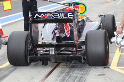 Mark Webber, Red Bull Racing rear diffuser