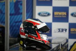 Alex Davison's helmet