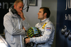 Jamie Green, Persson Motorsport with his race engineer