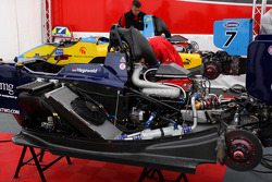 The cars of Henry Surtees and Tobias Hegewald