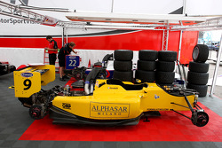 The cars of Pietro Gandolfi and Andy Soucek