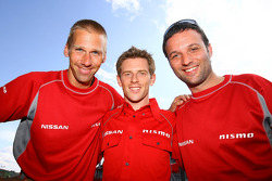 Michael Krumm, Anthony Davidson and Darren Turner