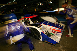 Pit stop for #30 Racing Box Lola B08/80 Coupé - Judd: Matteo Bobbi, Andrea Piccini, Thomas Biagi