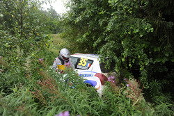 Yoann Bonato and Benjamin Boulloud, Suzuki Swift S1600 crashes