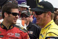 Martin Truex Jr., Earnhardt Ganassi Racing Chevrolet and Clint Bowyer, Richard Childress Racing Chevrolet