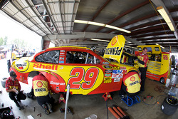 Richard Childress Racing Chevrolet crew members at work
