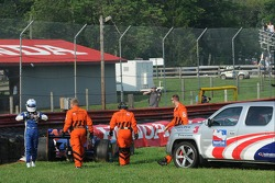 Trouble for Mike Conway, Dreyer & Reinbold Racing