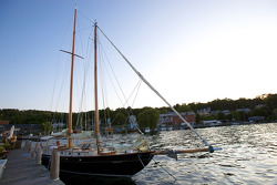 Beautiful 'Malabar VII' in the marina on Seneca Lake