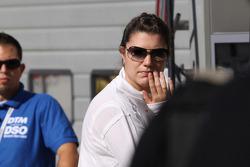 Katherine Legge, Audi Sport Team Abt after her crash