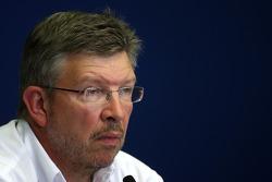 FIA press conference: Ross Brawn, Brawn GP, Team Principal