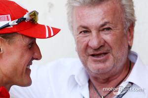 Michael Schumacher, Willi Weber, Former Driver Manager