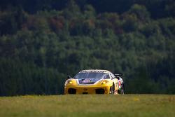 #92 JMW Motorsport Ferrari F430 GT: Robert Bell, Gianmaria Bruni