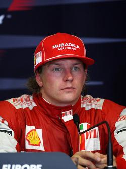 Press conference: Kimi Raikkonen, Scuderia Ferrari