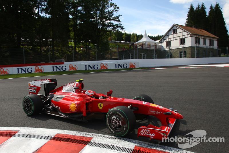 2009: Kimi Räikkönen (Ferrari F60)