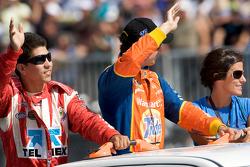 Drivers introduction: Antonio Perez and Andrew Ranger
