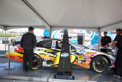 Car of Colin Braun at technical inspection