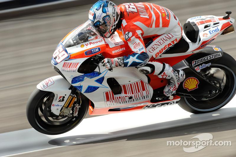 Ducati - Нікі Хейден - Гран Прі індіанаполісу, 2009 рік