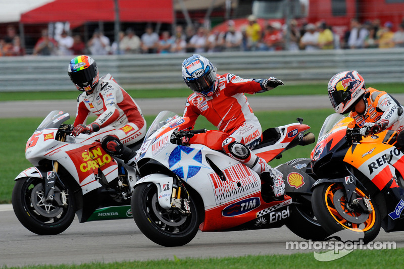 Alex De Angelis, San Carlo Honda Gresini, Nicky Hayden, Ducati Marlboro Team, Andrea Dovizioso, Reps