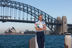 Mikko Hirvonen takes in the sights of Sydney Harbour en route to round 10 of the 2009 WRC, Rally Australia