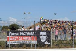 Fan banner for Randy De Puniet, LCR Honda MotoGP