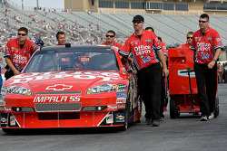Crew members for the No. 14 Office Depot/Old Spice Chevrolet