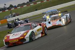 #91 FBR Ferrari F430 GT: Andrea Montermini, Niki Cadei, Gabrio Rosa