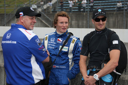 Mike Conway, Dreyer & Reinbold Racing and Tomas Scheckter, Dreyer & Reinbold Racing