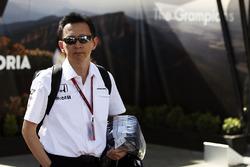 Юсуке Хасегава, глава программы Honda F1