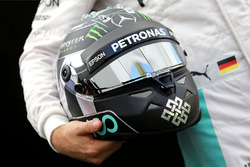 Il casco di Nico Rosberg, Mercedes AMG F1 Team