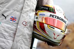 Helm van Lewis Hamilton, Mercedes AMG F1 Team