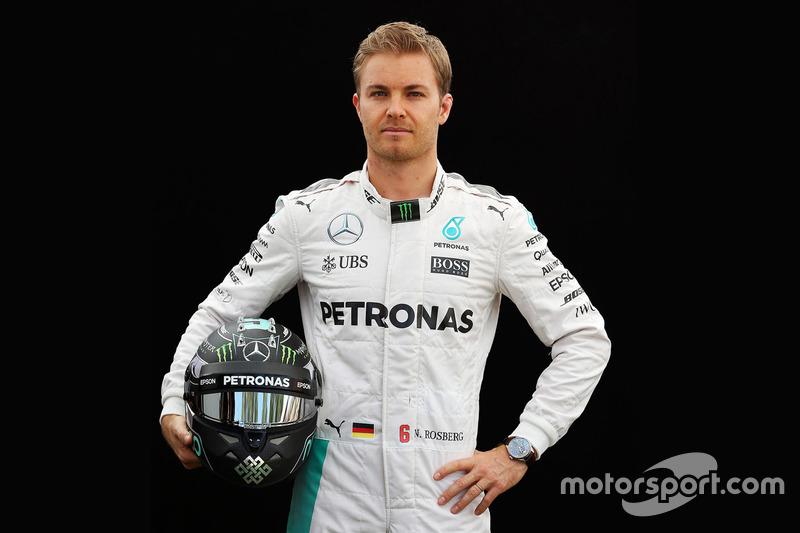Nico Rosberg, Mercedes (martes)